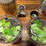 Gin og tonic med koriander