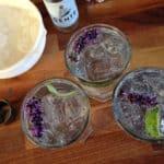 Gin longdrink med lavendel