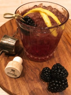 Bramble Special with Woodhill Gin