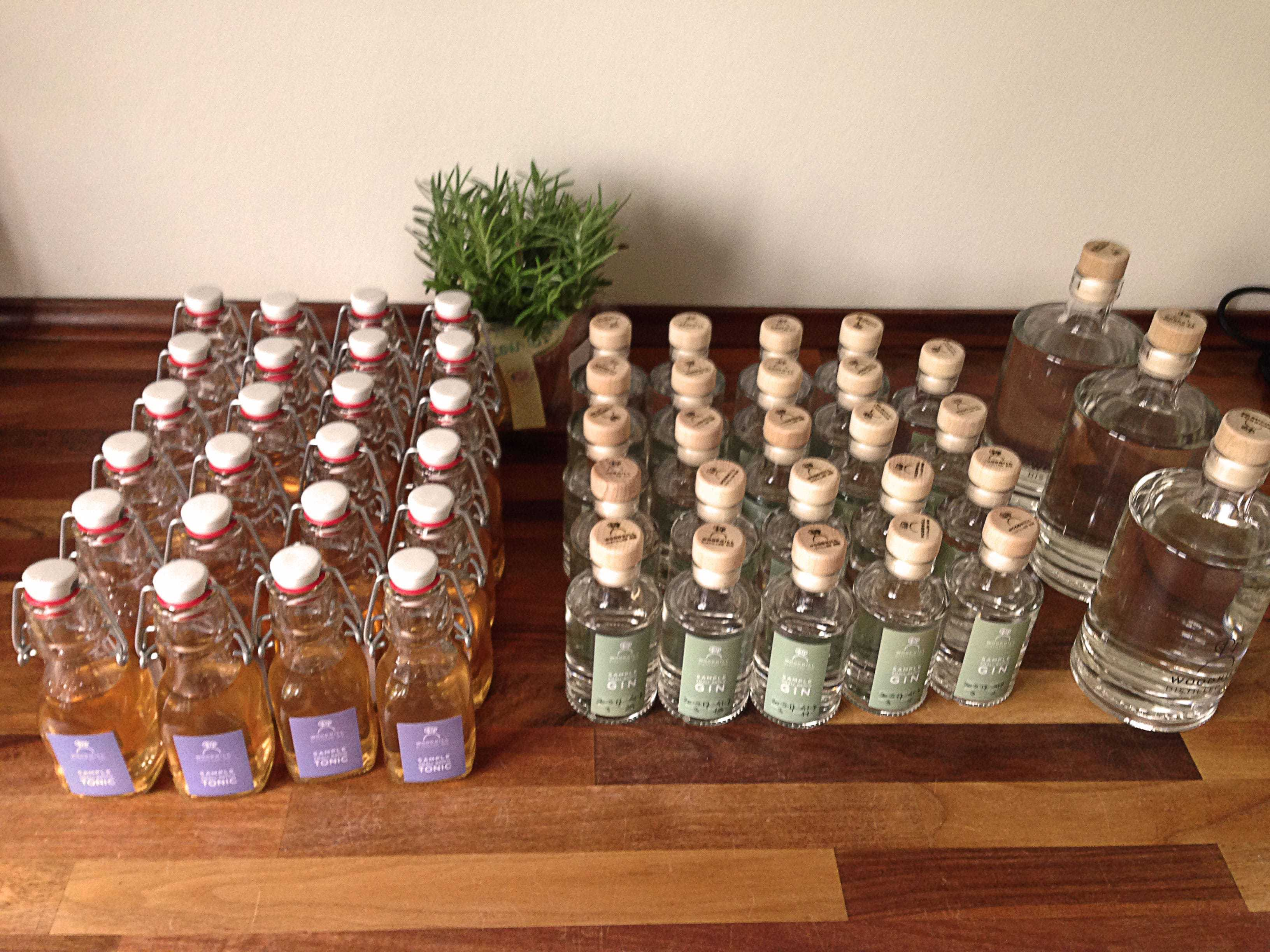Gin Tasting with Woodhill Gin