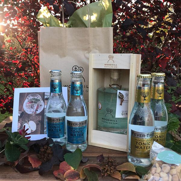 Luksus gavesæt fra Woodhill Gin