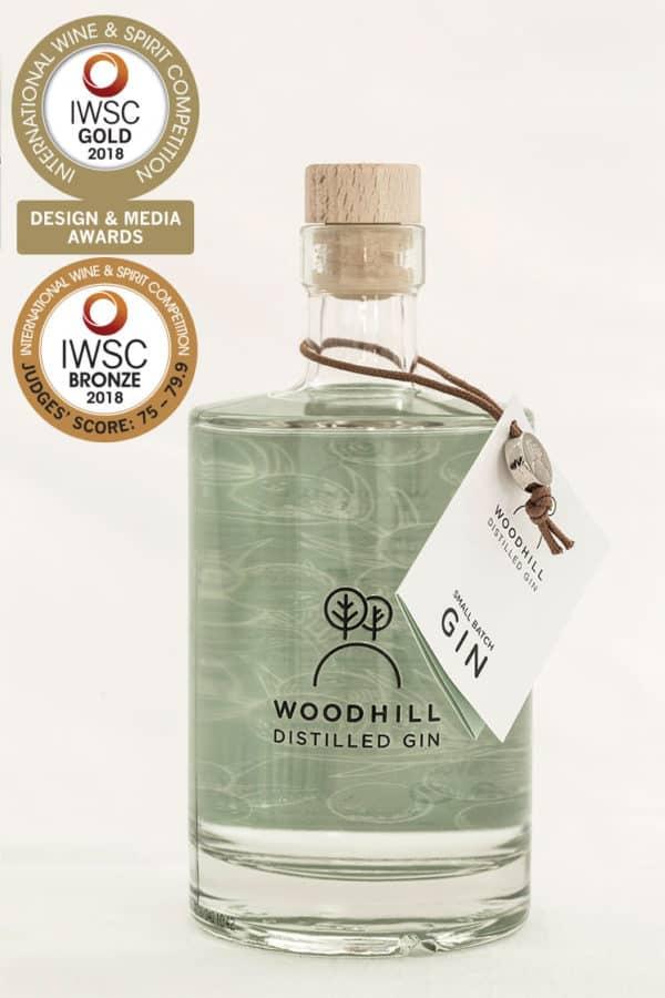 woodhill gin 50cl Bronze IWSC | Woodhill Gin