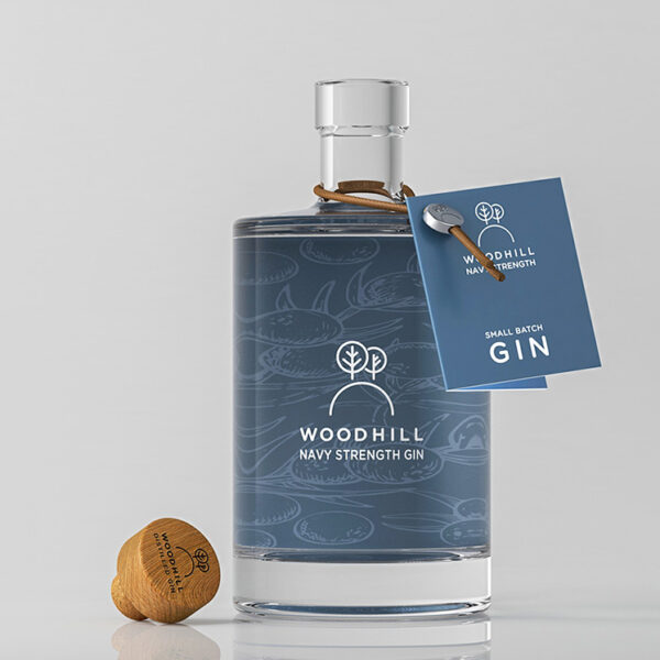 Woodhill Gin Navy Strength 50cl