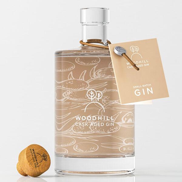 Woodhill Gin Oak Aged 50cl